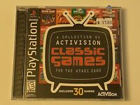 🔥 ACTIVISION 2600 Classic Games - PS1 PlayStation 1 PSX GAME🔥💯COMPLETE MINT
