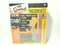 The Simpsons BART SIMPSON Photomosaics 1000 Piece Jigsaw Puzzle -Read