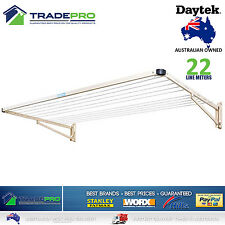 Single Folding Frame Clothesline Cream Premium Fold Down Everyday Clothes Line