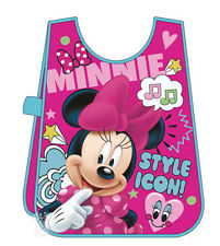 MINNIE Kids Pinafore Arts CRAFT Cooking PAINTNING Apron Messy Play Waterproof
