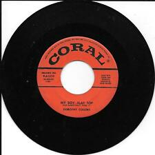 DOROTHY COLLINS - My Boy Flat Top/In Love - 45rpm - Coral 9-61510 - VG+