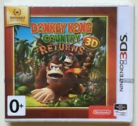 Donkey Kong Country Returns 3D (Nintendo 2DS 3DS) Brand New Factory Sealed PAL