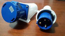 63 Amp Weatherproof Socket and Plug