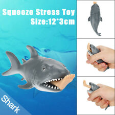 12cm Funny Toy Shark Squeeze Stress Ball Alternative Humorous Light Hearted HOT