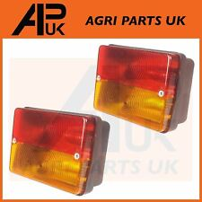 Massey Ferguson 230 240 250 275 290 300 Tractor Rear Tail Stop Light Lamp PAIR