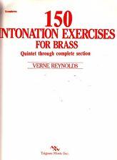 150 Intonation Exercises for Brass Trombone Section Verne Reynolds 1985