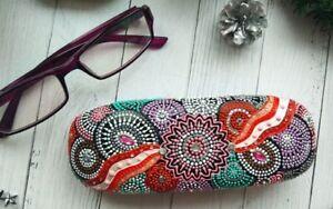 durable PU leather hard case for glasses glasses sunglasses protector box handma