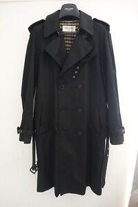 Saint Laurent Paris Men's Trench Coat £1890 SS13 Hedi Slimane Overcoat Mac