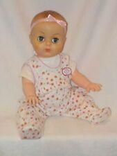 "17"" Vintage Vinyl Molded Hair Baby Doll"