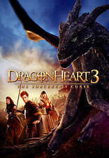 DRAGONHEART 3: THE SORCERER'S CURSE (DVD, 20015, WS)  NEW