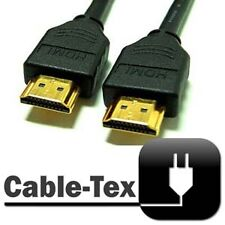 Cable-Tex HDMI v1.3 Gold 1080p HD LCD HD Video Lead 1m