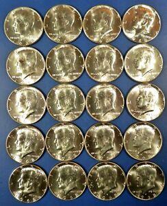 1968-D KENNEDY HALF DOLLARS ~ 40% SILVER ~ ORIGINAL CHOICE UNCIRCULATED ROLL