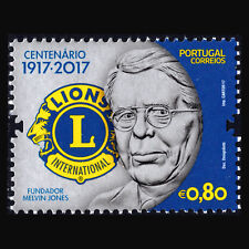 Portugal 2017 -  100th Anniversary of Lions Clubs International - MNH