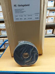 Vorlegeband  9 x 2 mm weiß 5 Rollen a 20 Mtr.
