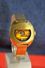 """Blumus"" ~21J Very rare Digital cal.TD1335 Circa1970's Swiss GP Men's Wristwatch"