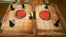 Blood Pools Set, Dungeons and Dragons terrain scenery Digital Download wargame