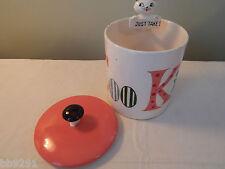 Vintage 1960 Holt Howard Cozy Kitten Pop Up Cookie Jar Just Take 1 HTF