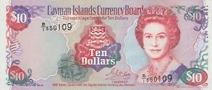 P18a CAYMAN ISLANDS TEN DOLLARS 1996 BANKNOTE IN MINT CONDITION