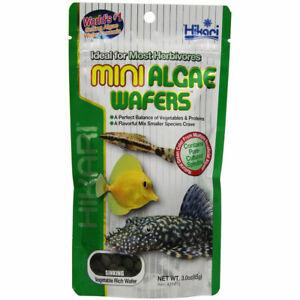 Hikari MINI Algae Wafers Sinking 85g Pure Cultured Spirulina Marine Herbivores