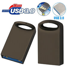 Mini Metal USB 2.0/3.0 32GB 16GB Flash Stick Pen Drive StorageU Disk Car