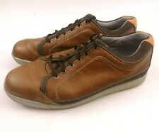 Fj Contour Men's Golf Casual Shoes # 54222 Brown Leather Spikeless Size 9 W