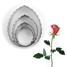 Cookie Cake Cutter Pastry Mould Kitchen Baking Mold Fondant Rose Leaf Biscuit
