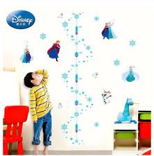 Disney Princess Height Measure Wall Stickers Cartoon Princess Wall Decal Decor