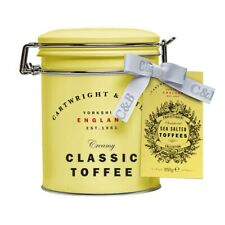 Neuf Cartwright & Butler Mer Salé Caramel Toffees en Cadeau Boite