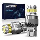2X 7443 7440 LED 6500K Reverse Backup Brake Tail Stop Parking Light Bulbs CANBUS