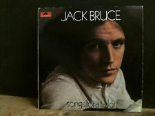 JACK BRUCE  Songs For A Tailor   LP  UK stereo original press.  Cream  Rare!