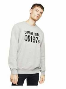 Diesel S-girk J3 Sweat Shirt Grey