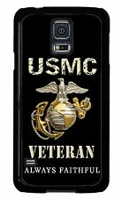 USMC Marines Veteran Marine Corps for S3 S4 S5 Note 2 3 4 Snap On case Proud