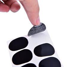 8Pcs 0.5mm Soprano Saxophone Sax Mouthpiece Patches Pad Cushions Black  JX