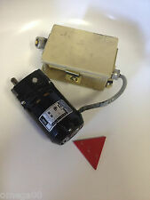 Bodine Electric Motor/Gearmotor  NCI-13D3 with capacitor and control box