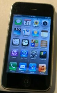 Apple iPhone 3GS - 16GB - White (AT&T) A1303 (GSM) Fast Ship Good Used