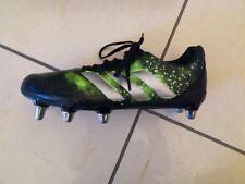 Adidas Kakari Elite Sg Chaussure Rugby Homme Noir et Vert pointure 41 1/3