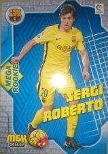 Sergi Roberto Mega Rookies nº 108 Barcelona Rookie Megacracks MGK 2016 2017 17