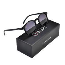 Boort Badagarang Polarised Sunglasses [ Shiny Black – Grey ]