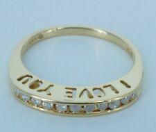 Women's Gold & Diamond Ring!