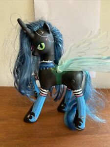 My Little Pony Queen Chrysalis Figure Brushable Hair 2013 Talking Light Up Unico