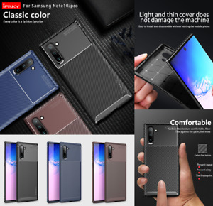 For Samsung Galaxy Note 10/Note10Plus/Note10+ 5G Case Genuine Carbon Fiber Cover