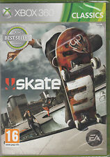 Skate 3 Xbox 360 Skating Game Brand New Sealed Xbox One Compatibl Skateboarding