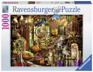 Merlin's Laboratory 1000 Piece Puzzle by Ravensburger -Brand New - FREE SHIPPING