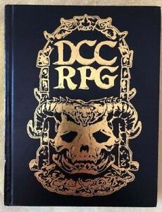 Dungeon Crawl Classics DCC RPG Rulebook GOLD LEAF LIMITED EDITION Goodman Games