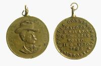s724_27) Medaglia Felice Cavallotti politico e patriota italiano 1842 1898 mm 26