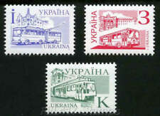 """1995-2006 Ukraine. 4th definitive.""""Transport"""". All types of stamps."""
