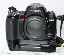 MINOLTA MAXXUM 800SI 35mm SLR FILM CAMERA BODY w/ VC-700 GRIP