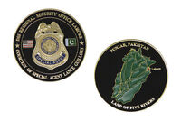 US DSS Regional Security Office Lahore Agent Lance Guillory Challenge Coin