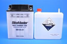 87-99 YFM350FW Big Bear 4x4 BikeMaster BB14A-A1 Yumicron Battery w/Acid  781106
