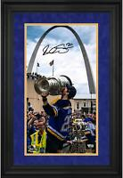 """Alexander Steen Blues Framed Signed 10"""" x 18"""" Victory Parade Photo - LE 20"""